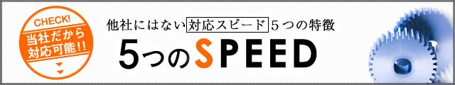 5つのS(SPEED)
